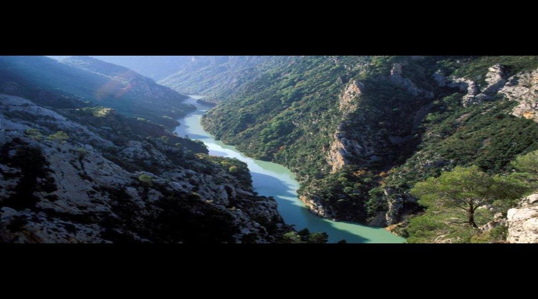 Le GR® 4:  de Castellane à Manosque par le Verdon